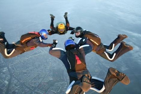 Marius Duta Birthday skydive