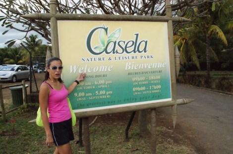 Casela park entrance
