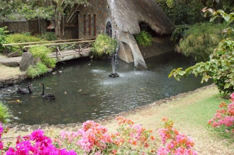 Casela fountain