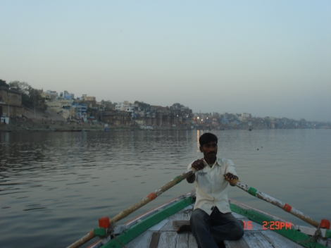Boat Ride River Ganges