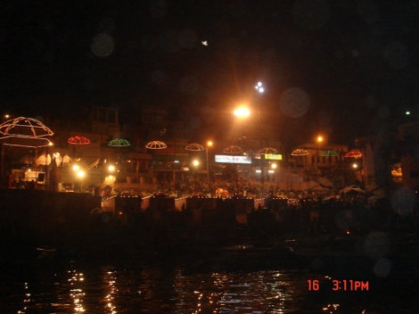 Aarti Ceremony River Ganges