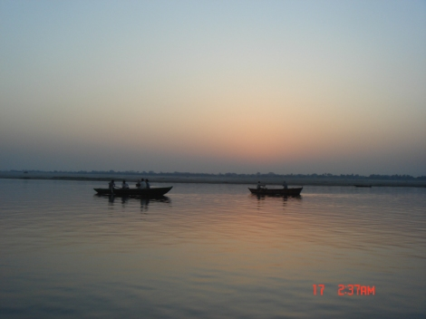 Sunrise River Ganges