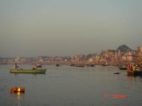Tourists River Ganges