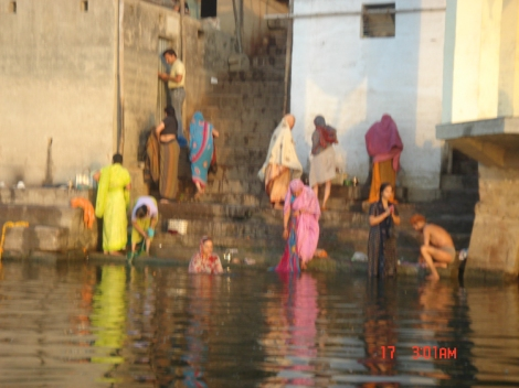 Washing Ganges River