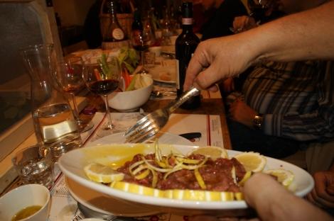 'Sushi of Chianti' tartar