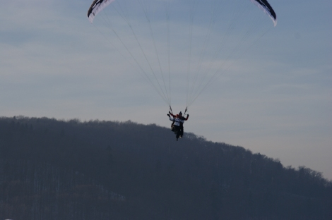 Flying :)