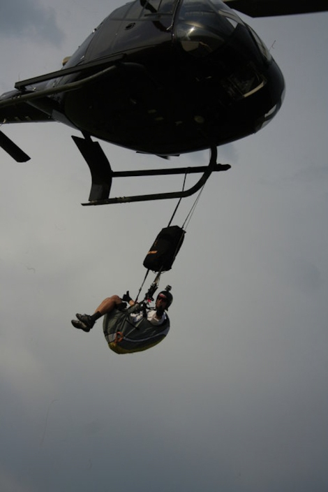 helicopter fall
