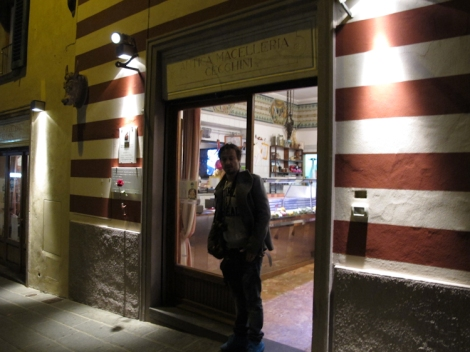 Entrance Antica Macelleria Cecchini
