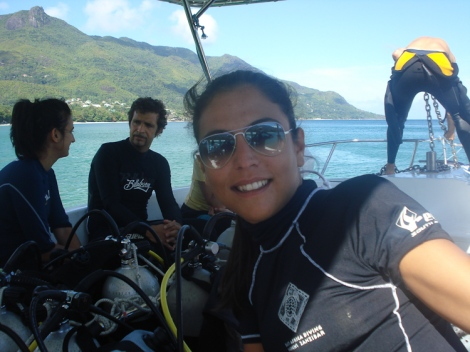 happy to dive with blue sea divers